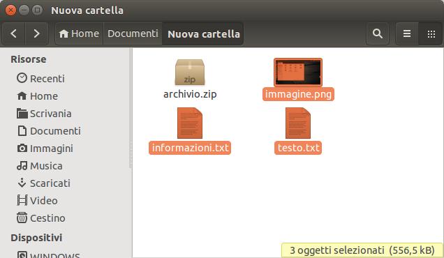 selezione-file